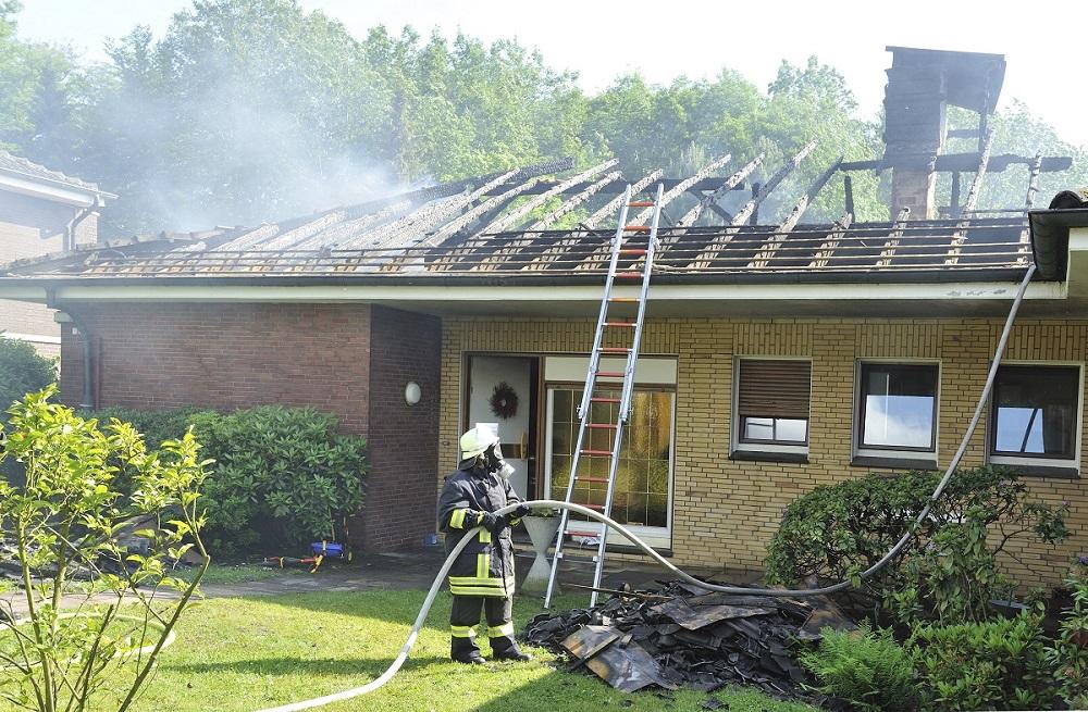 Wohnhausbrand 1